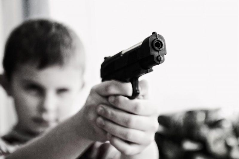 Niños delincuentes