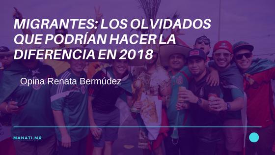 OPINIÓN MEXICANOS 2018 VOTANDO
