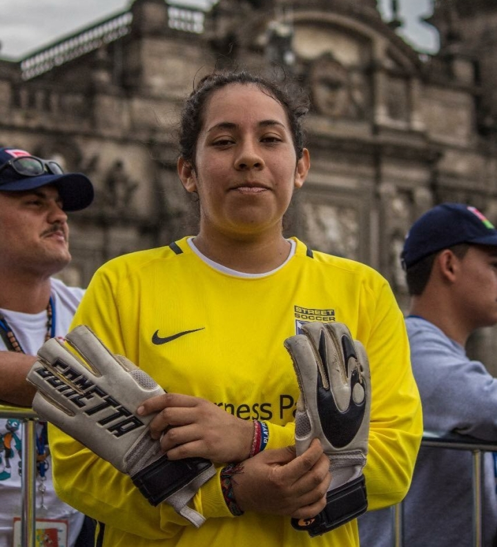 Sandra Durán Homeless World Cup