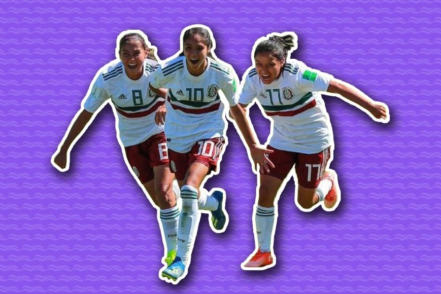 Jugadoras mexicanas